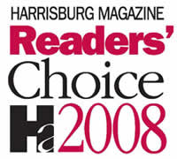 Maid To Perfection won the Harrisburg Magazine Reader's Choice Award for Best Houe Cleaning Service in 2008